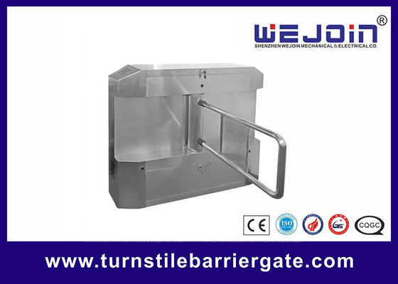 중국 Acrylic plate Arm Turnstile Entry Swing Barrier Gate Systems With Dry Contact Interface 공장