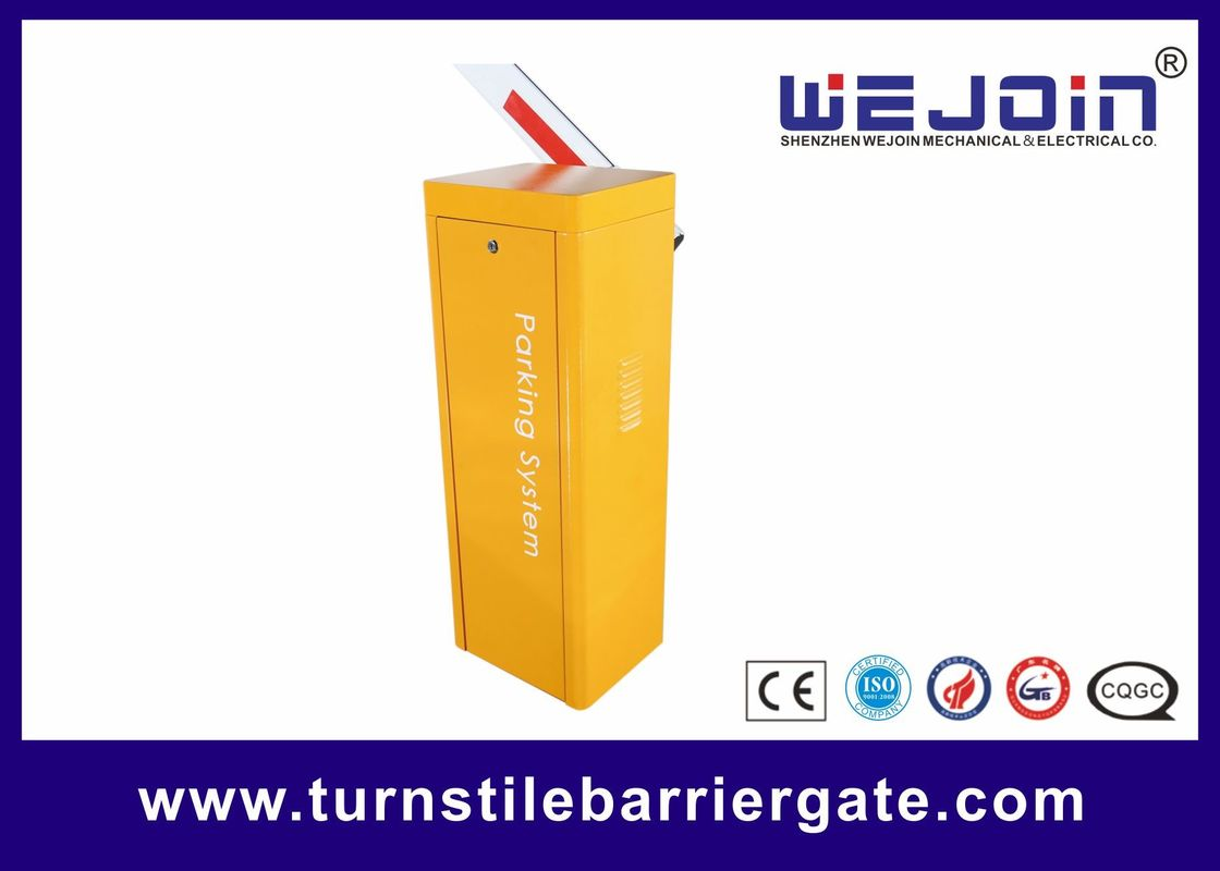 Economic Parking Barrier Gate System / Manual Release Electronic Boom Barrier Security